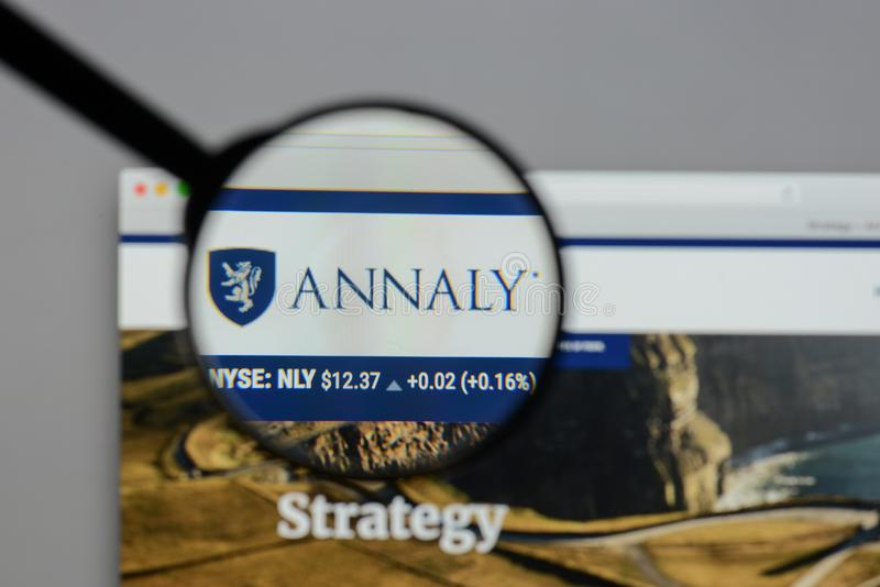 Annaly Capital Management Inc NLY Stock