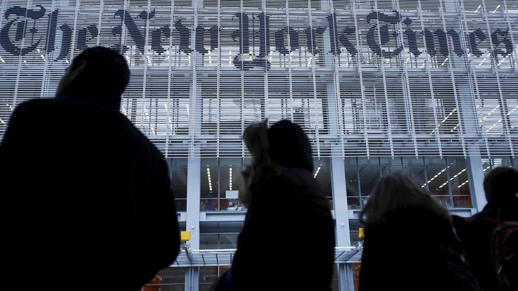 New York Times NYT Stock