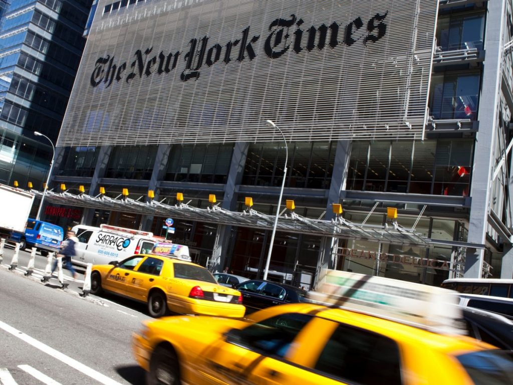 The New York Times CO Stock