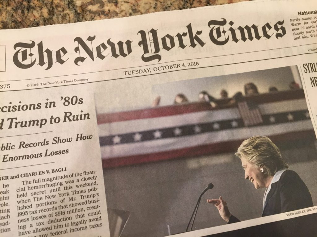 The New York Times Stock