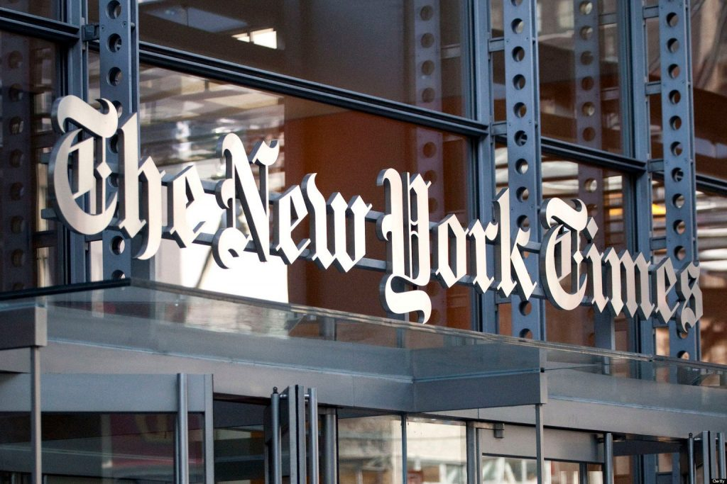 New York Times Stock