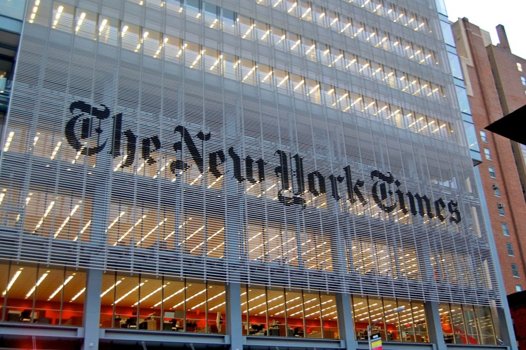 The New York Times NYT Stock