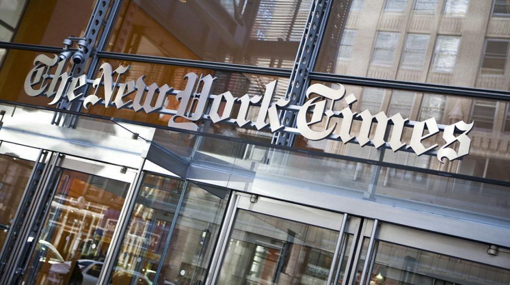 NYT New York Times Stock