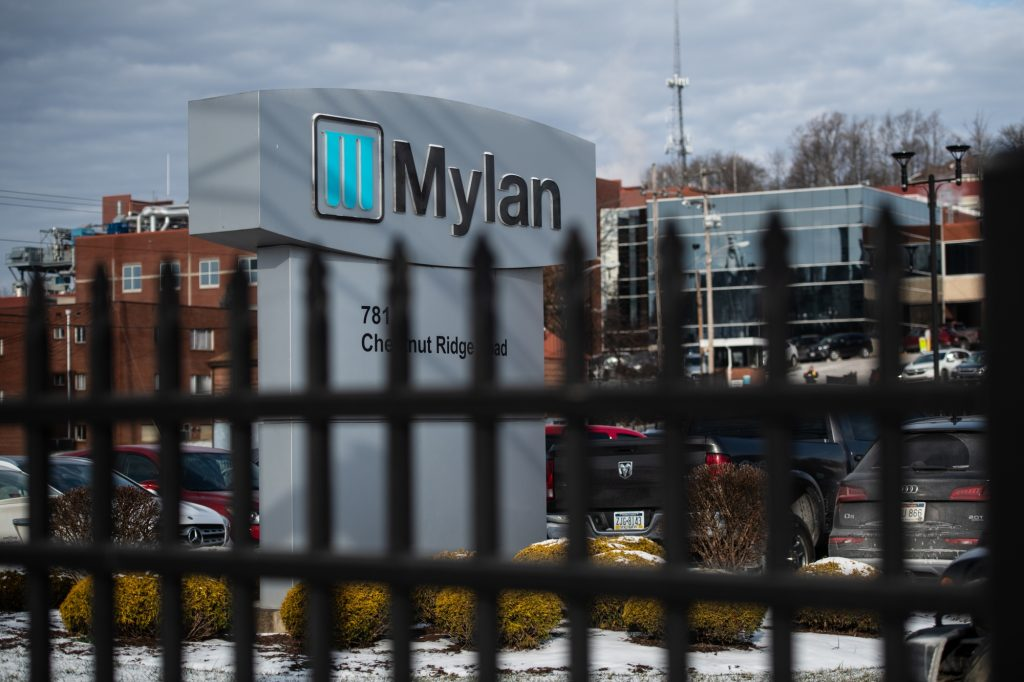 Mylan NV Stock