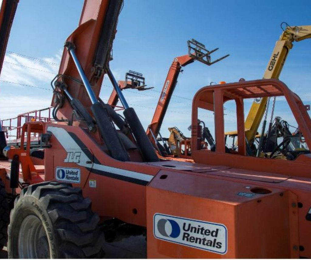 URI United Rentals Inc Stock