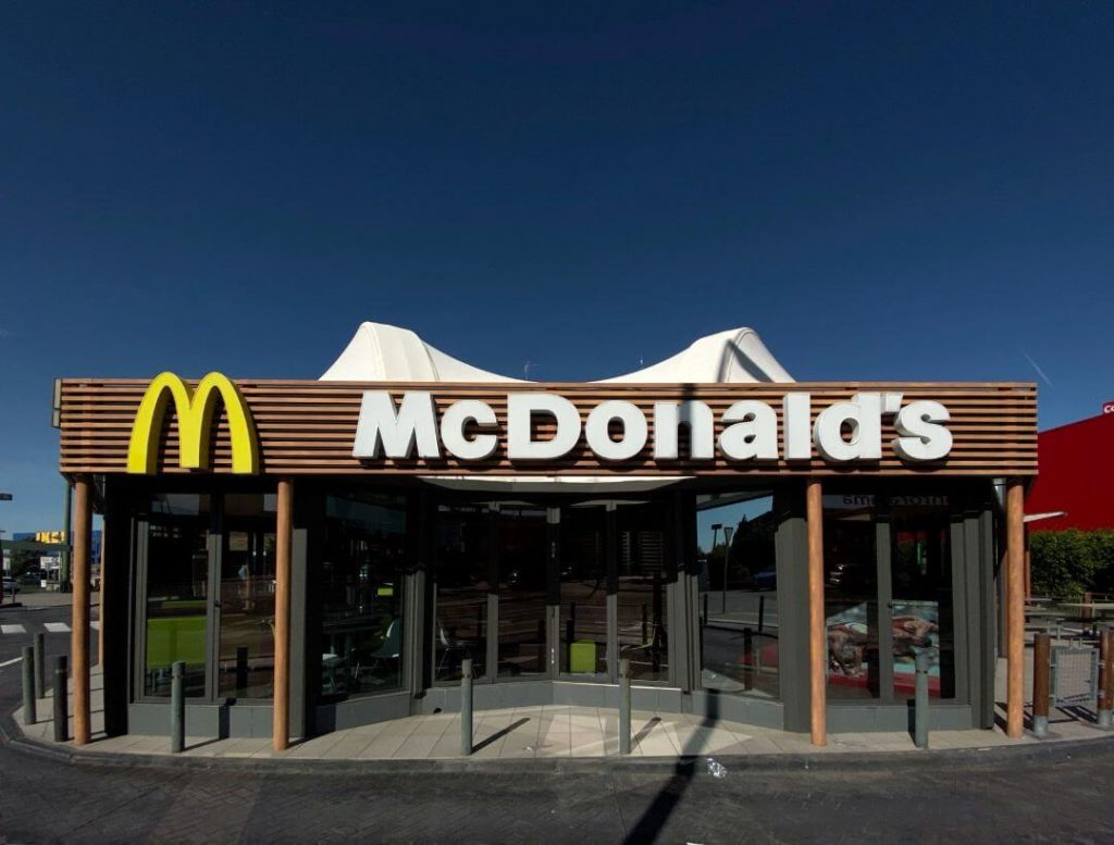 McDonald's rated as best restaurant stock