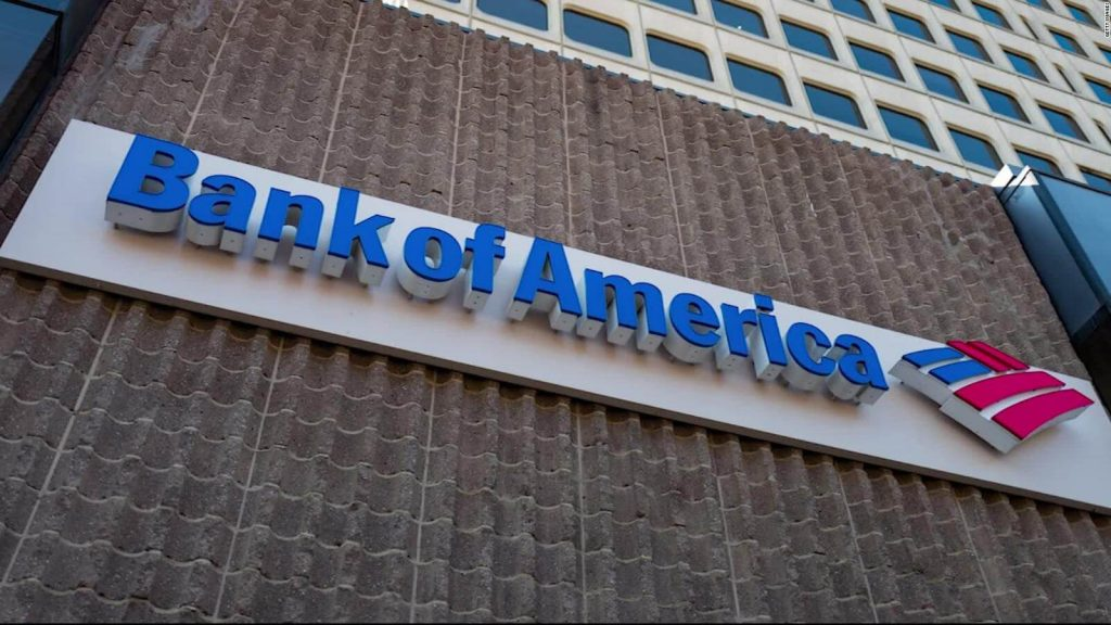Bank of America chooses high growth