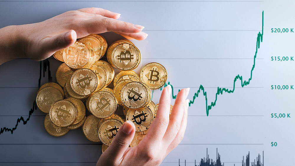Investors hold Bitcoin stocks on the long term