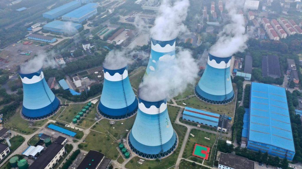 The China's power crunch concern